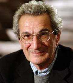 Italian Antonio (Toni) Negri, radical philosopher and political activist ,du    ring an interview in Berlin